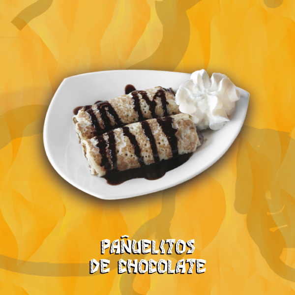 Pañuelitos de chocolate