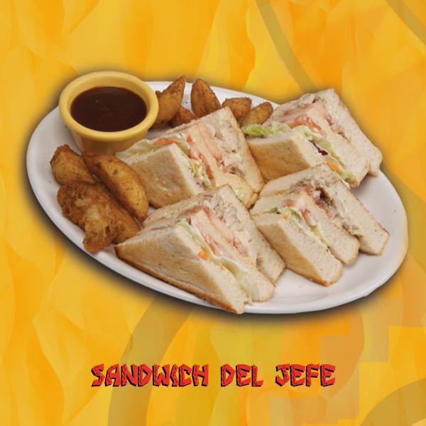 Sandwich del jefe