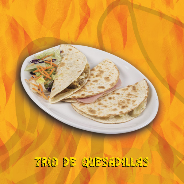 Trio de quesadillas